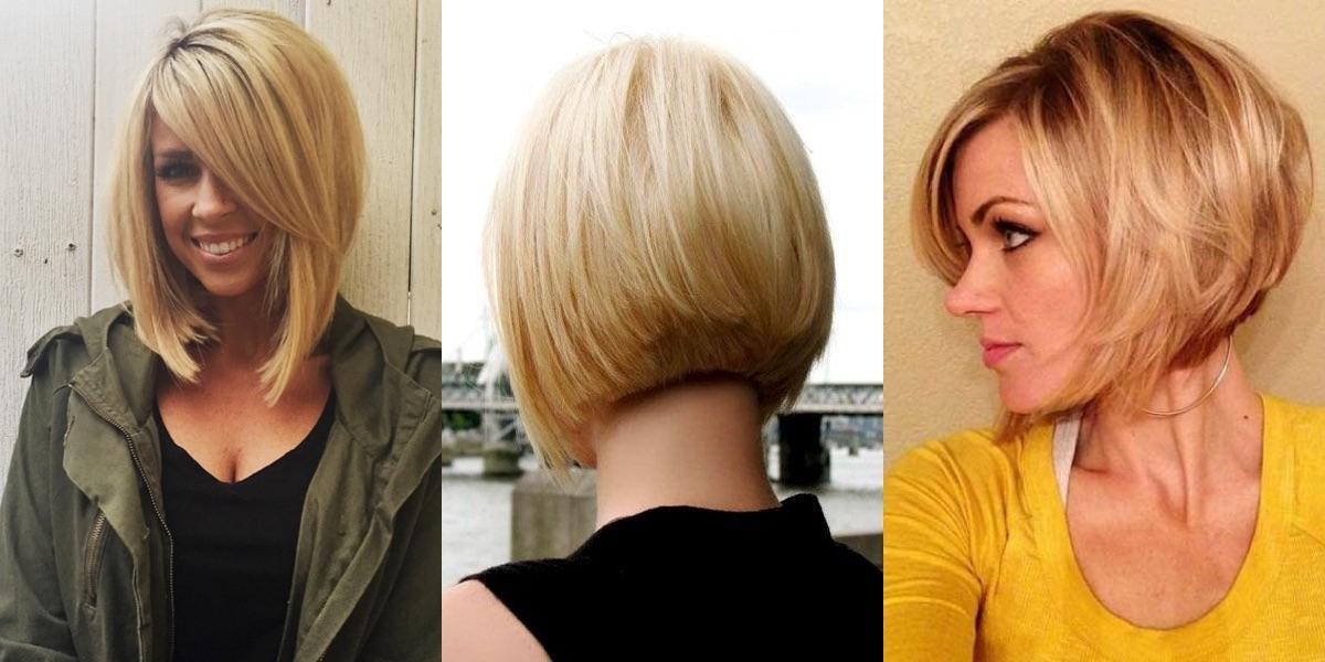 Taglio medio corto per capelli fini