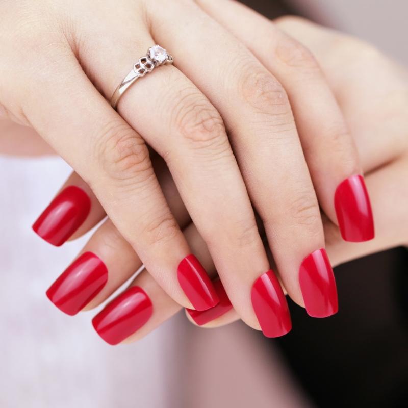 false-nails-fire-me-up-french-manicure-24-full-cover-medium-tips-free-glue-uk