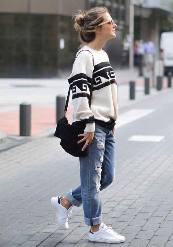 Boyfriend-Jeans-Outfit-Ideas-You-Can-Follow-Right-Now Boyfriend-Jeans-Outfit-Ideas-You-Can-Follow-Right-Now