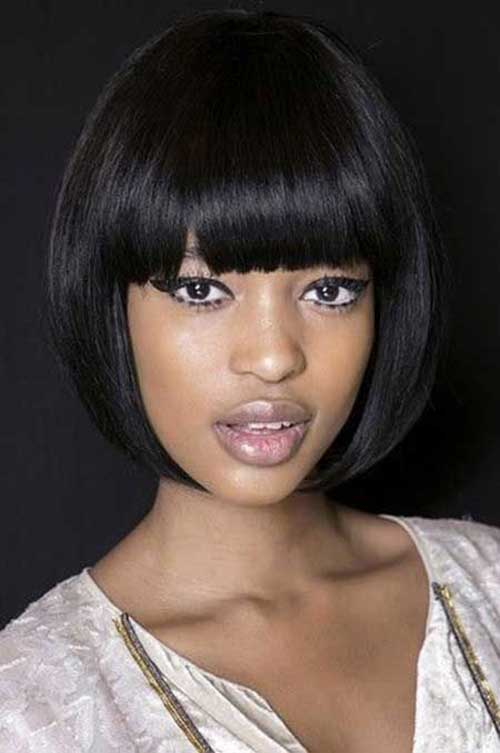 French-Bob-Hairstyles-for-Black-Women French-Bob-Hairstyles-for-Black-Women