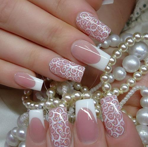 Nail-art-romantica-sposa-2015 Nail-art-romantica-sposa-2015