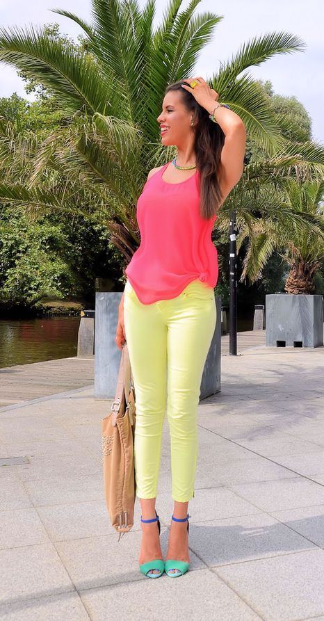 Neon-outfit-look Neon-outfit-look