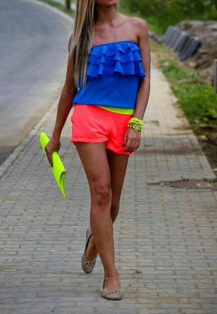 Neon-outfit