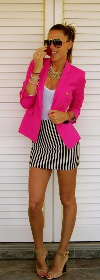 Neon-outfits-blazer