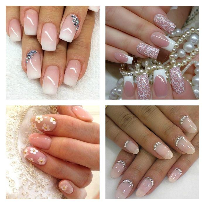 Romantiche-Bridal-Nail-Art-da-sposa Romantiche-Bridal-Nail-Art-da-sposa