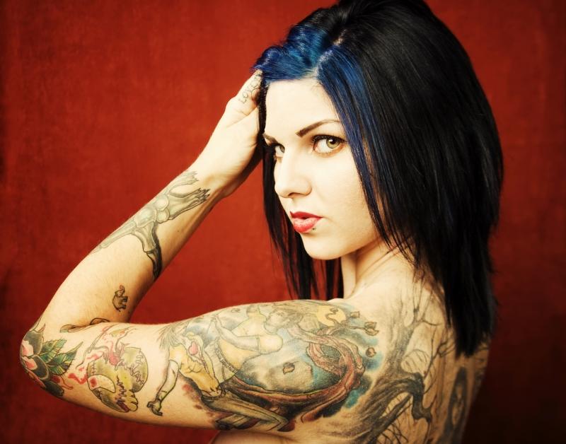 Sleeve-tattoo-design-for-feminine-women