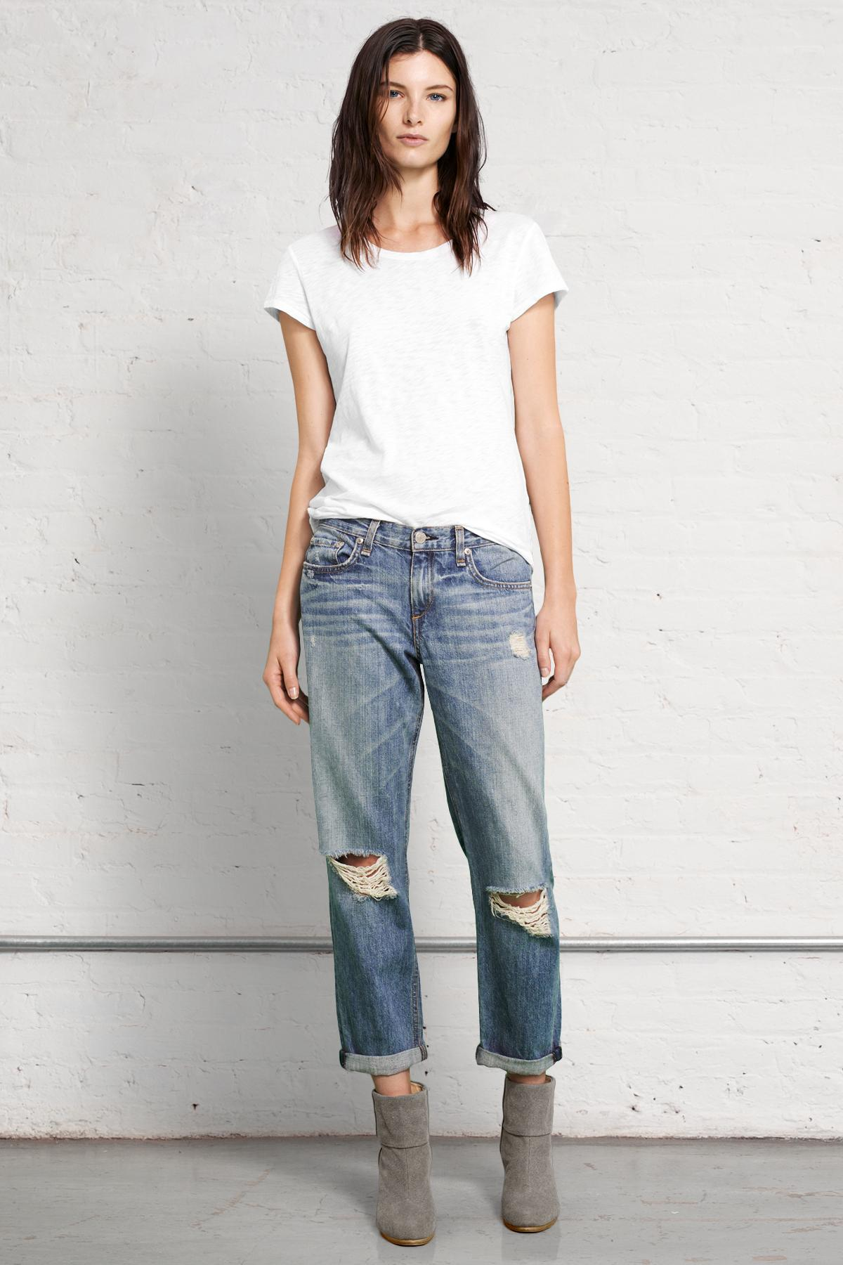 Cradle your curves with these super flattering boyfriend jeans from bestyload7od.cf! This is the boyfriend that will always complement your outfit!