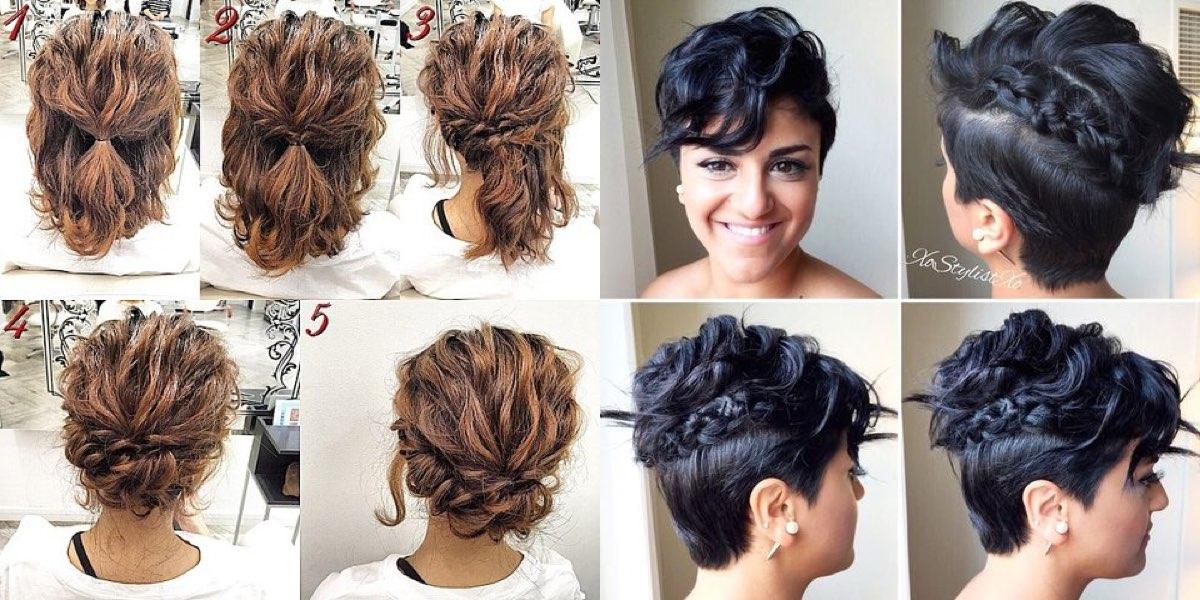 Acconciature capelli medi legati