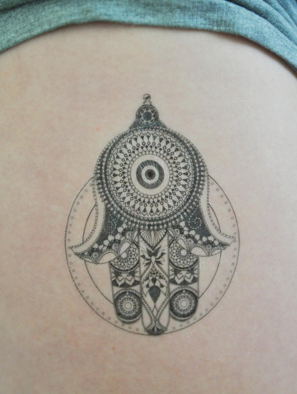 Favoloso Mano di Fatima tattoo: significato del disegno e consigli! JU61