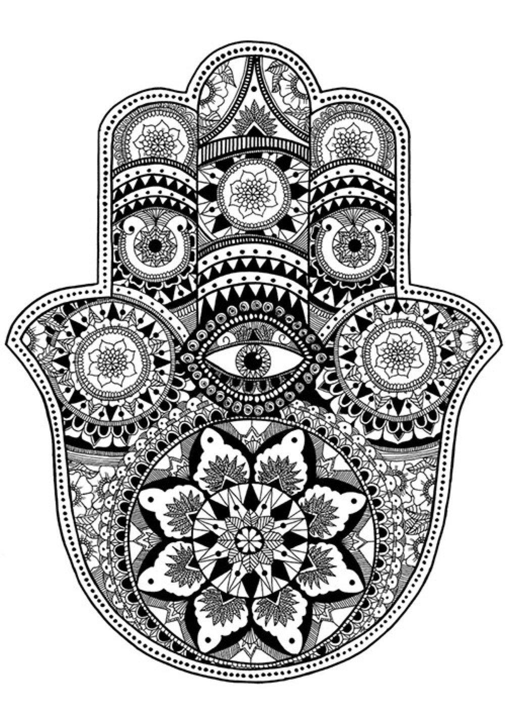 Conosciuto Mano di Fatima tattoo: significato del disegno e consigli! JE88