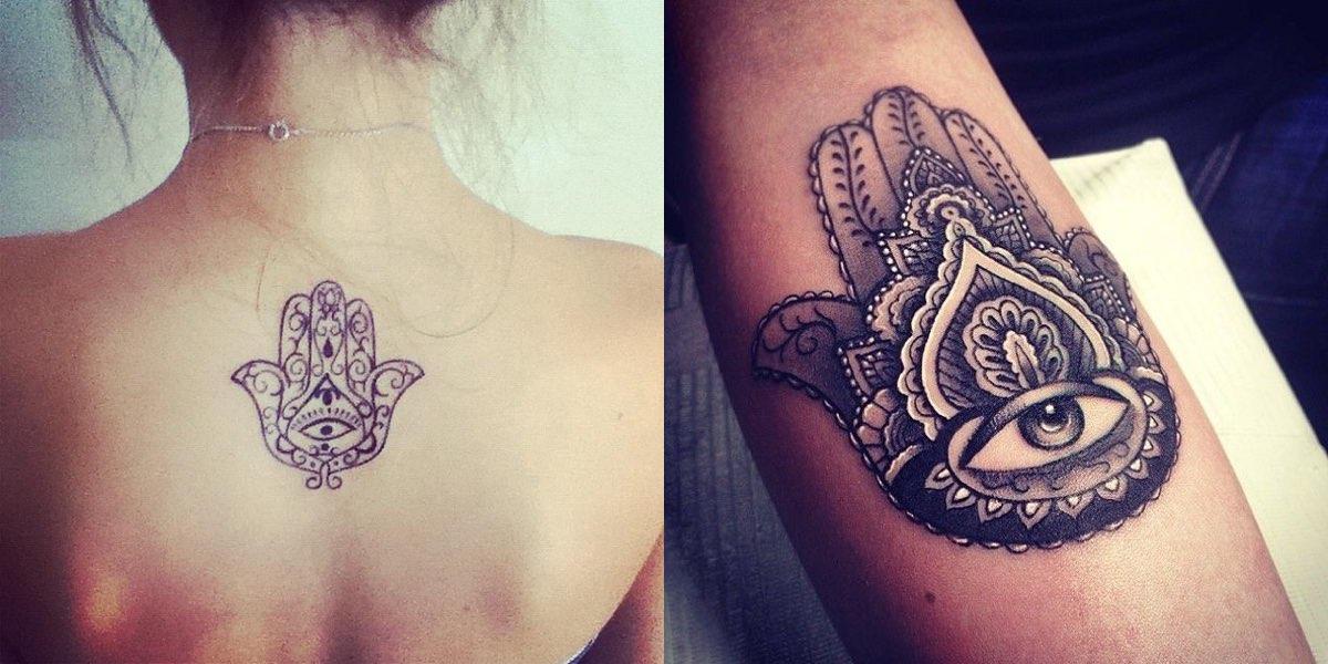 Eccezionale Mano di Fatima tattoo: significato del disegno e consigli! IB27