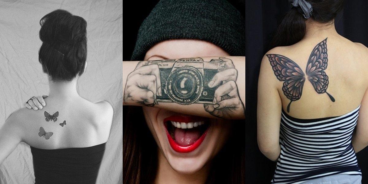 30 idee creative per i vostri tatuaggi femminili for Tatuaggi idee uomo