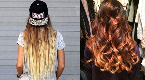 Extension capelli con shatush