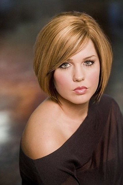 Round Full Face Women Hairstyles For Short Hair Popular Haircuts Short Hairstyles For Heavy ...