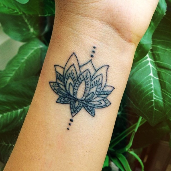 Popolare Tatuaggi fiori di loto: origine, significati e foto BK62