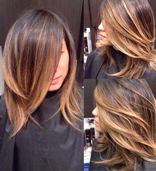 ombre-balyage-short-to-medium-length-hair Ombre-Balyage-Short-to-Medium-Length-Hair