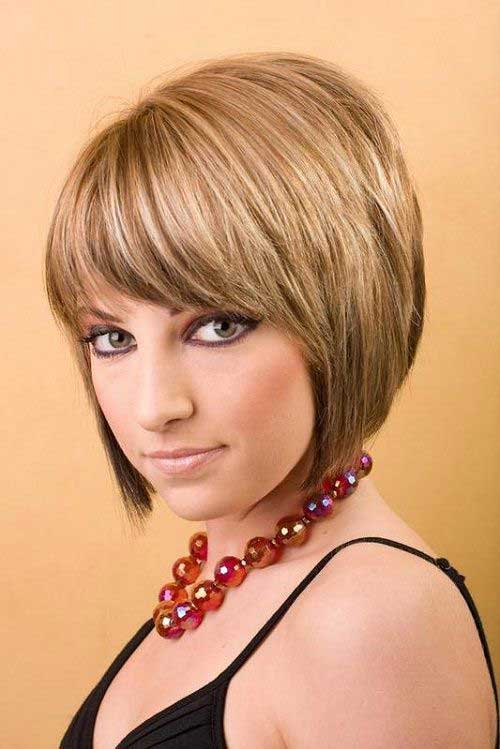 Short-Inverted-Blonde-Bob-with-Bangs Short-Inverted-Blonde-Bob-with-Bangs