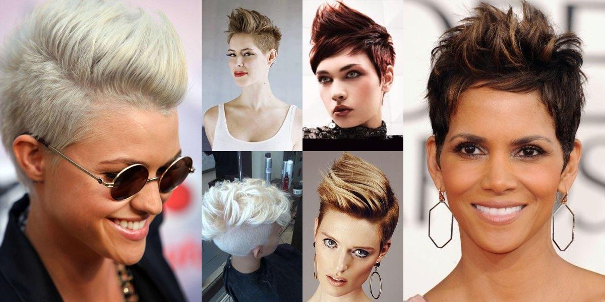 Come fare la cresta femminile capelli corti