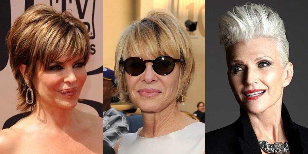 Tagli capelli corti a 50 anni