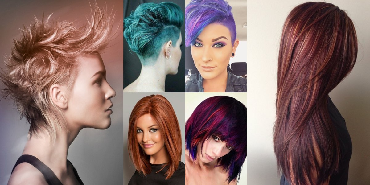 Contrasti di colore capelli corti