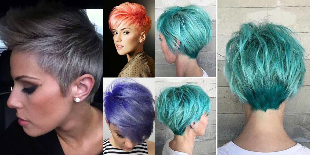 Idee colore capelli corti