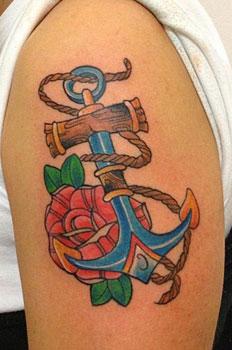 tatuaggio-ancora