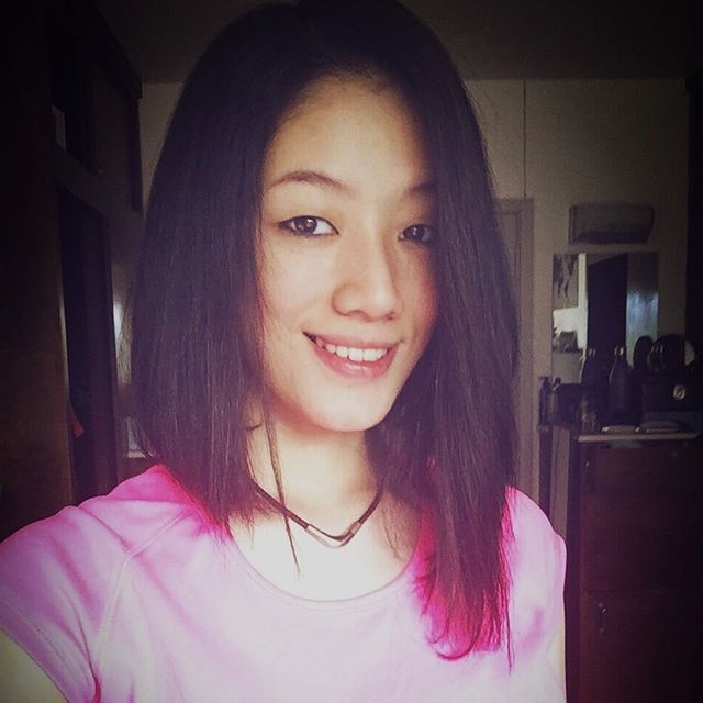 11-brunette-zu-rosa-lange-asymmetrische-bob-frisur 11