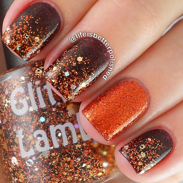 12-brown-amp-copper-glitter-design