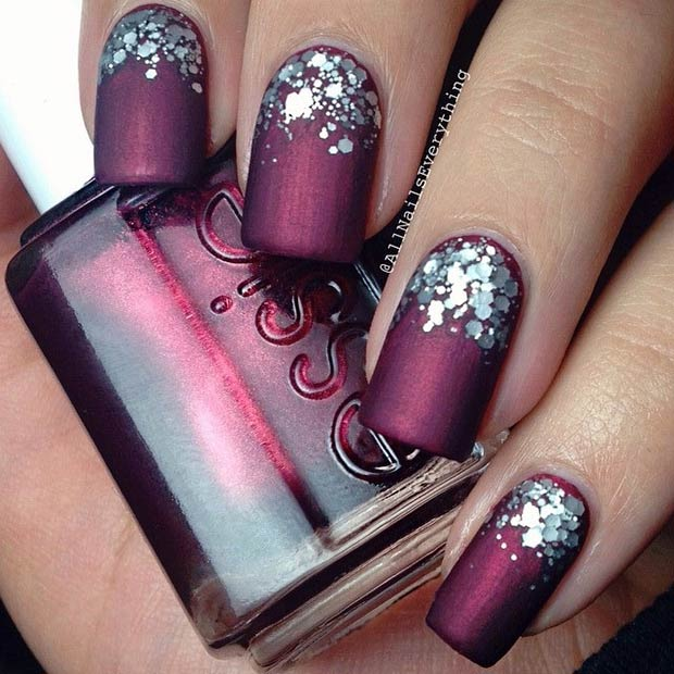 19-burgundy-matte-nails