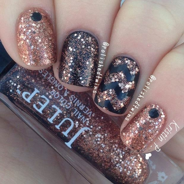3-copper-glitter-design