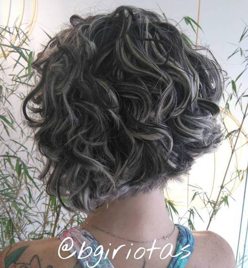 3-curly-short-black-bob-with-blonde-highlights 3-curly-short-black-bob-with-blonde-highlights-1