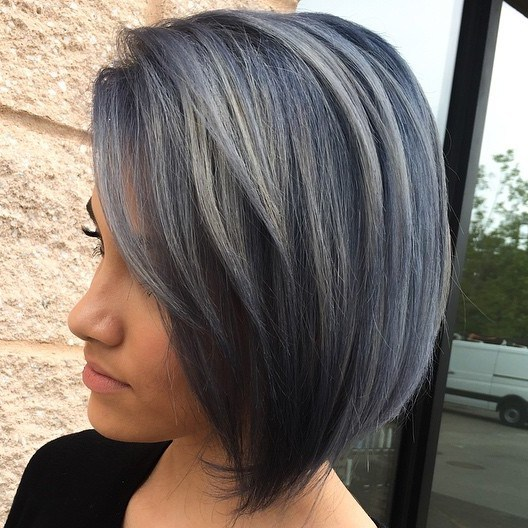 5-black-bob-with-gray-balayage