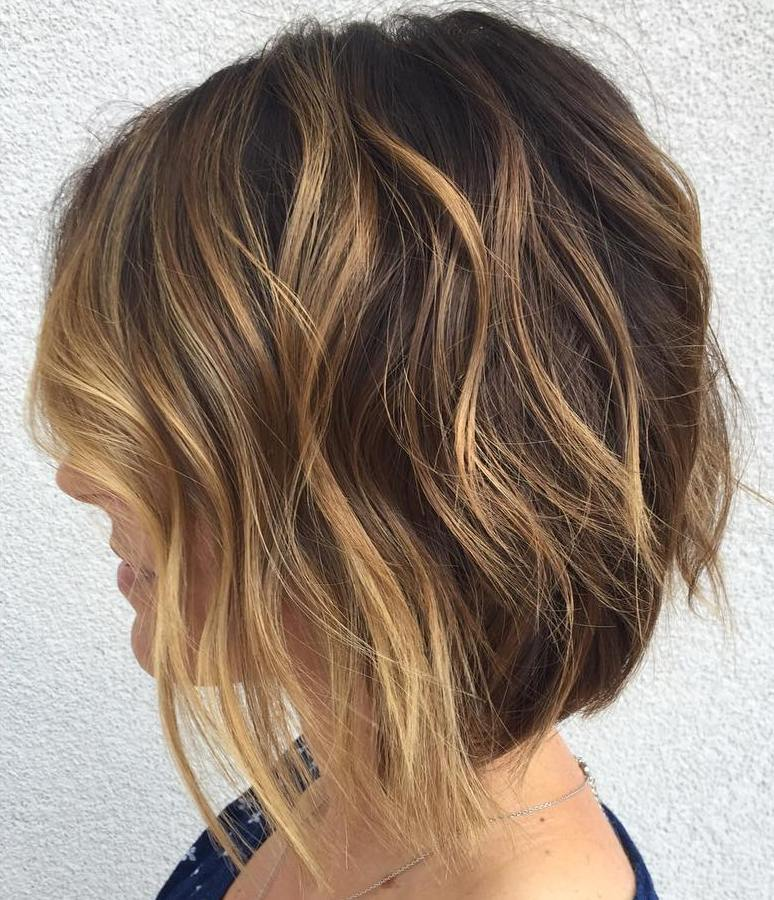 9-brown-bob-with-honey-blonde-highlights