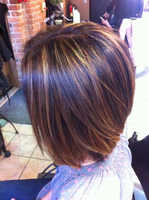 brown-bob-with-highlights