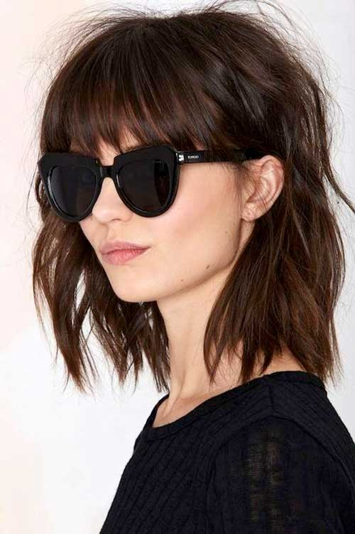 messy-brown-bob-with-bangs