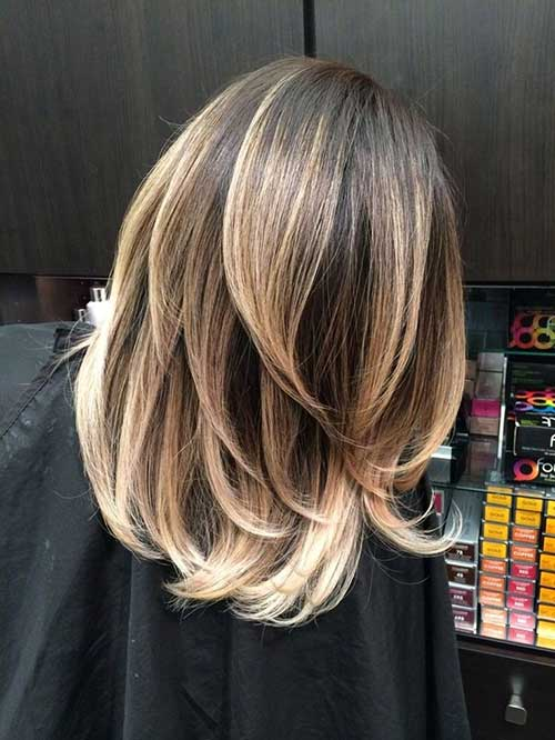 short-hair-balayage