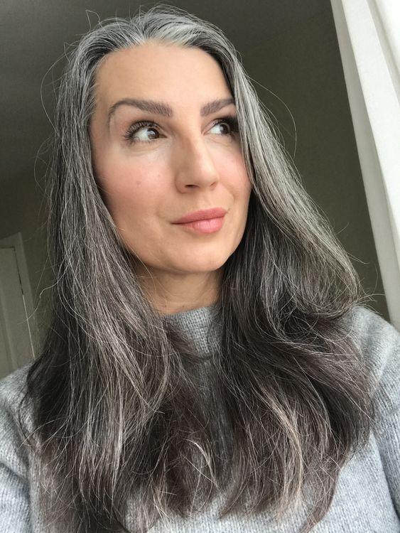 lunghi grigi mossi