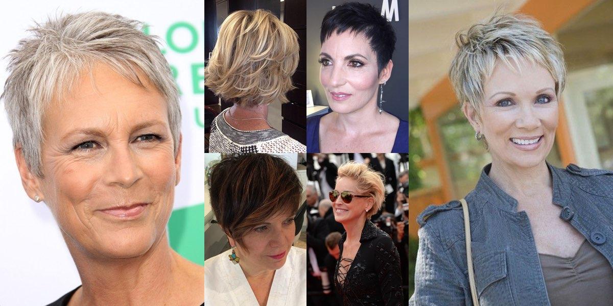 pretty nice f0d74 0e0a7 80 tagli di capelli corti semplici per le donne over 50