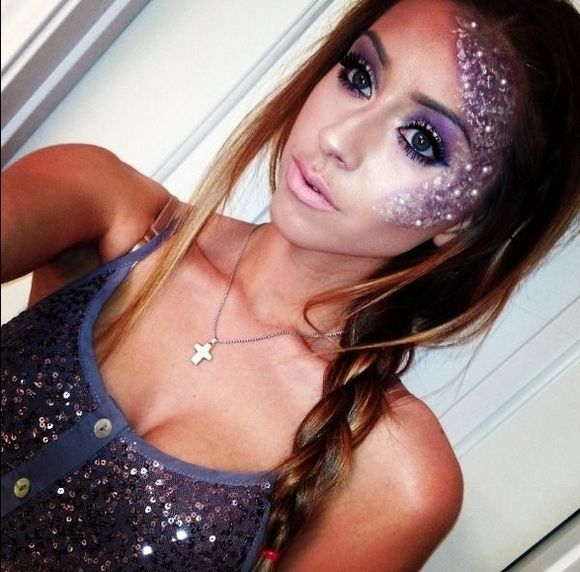 pretty-halloween-makeup