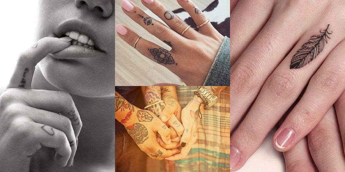 Tatuaggio Sulle Dita Una Guida E 55 Foto Da Cui Prendere Ispirazione