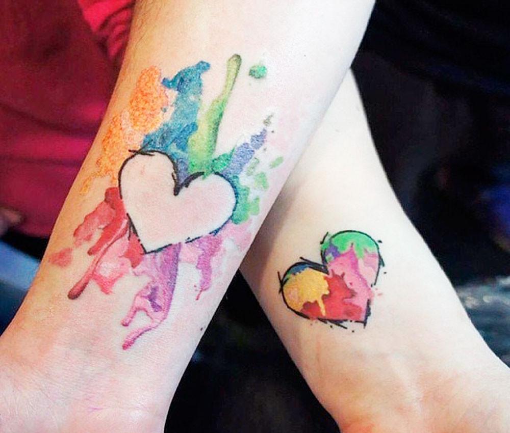 Famoso Tatuaggi di coppia: 37 idee da non perdere! KS69