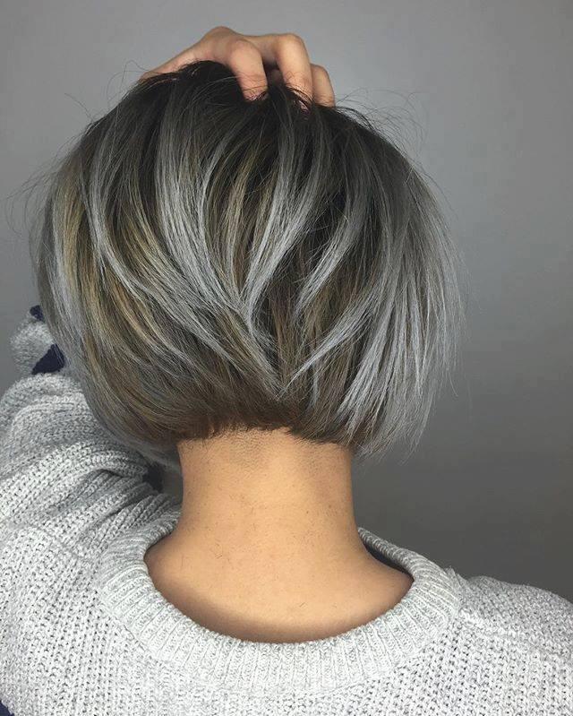 Capelli corti con colpi di sole foto – Tagli di capelli popolari 2019 06b5e46f08bb