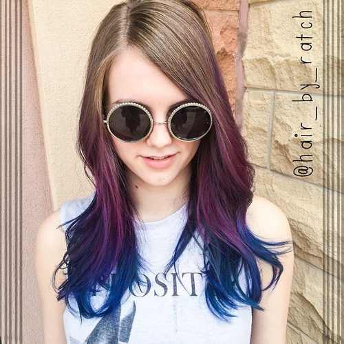 16-lavender-straight-hair
