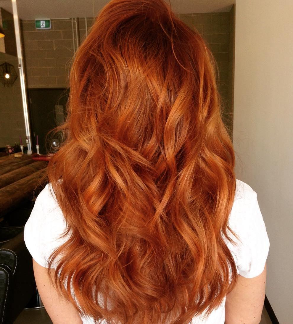 16 Red Shag Haircut For Long Hair Capellistyle
