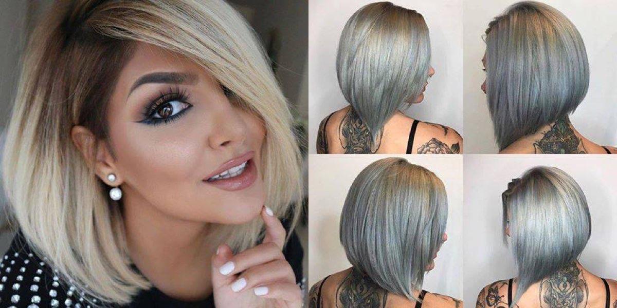 Foto di tagli di capelli medio corti