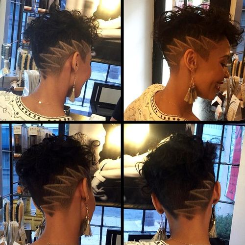 7-short-asymmetrical-black-haircut-with-undercut-and-design