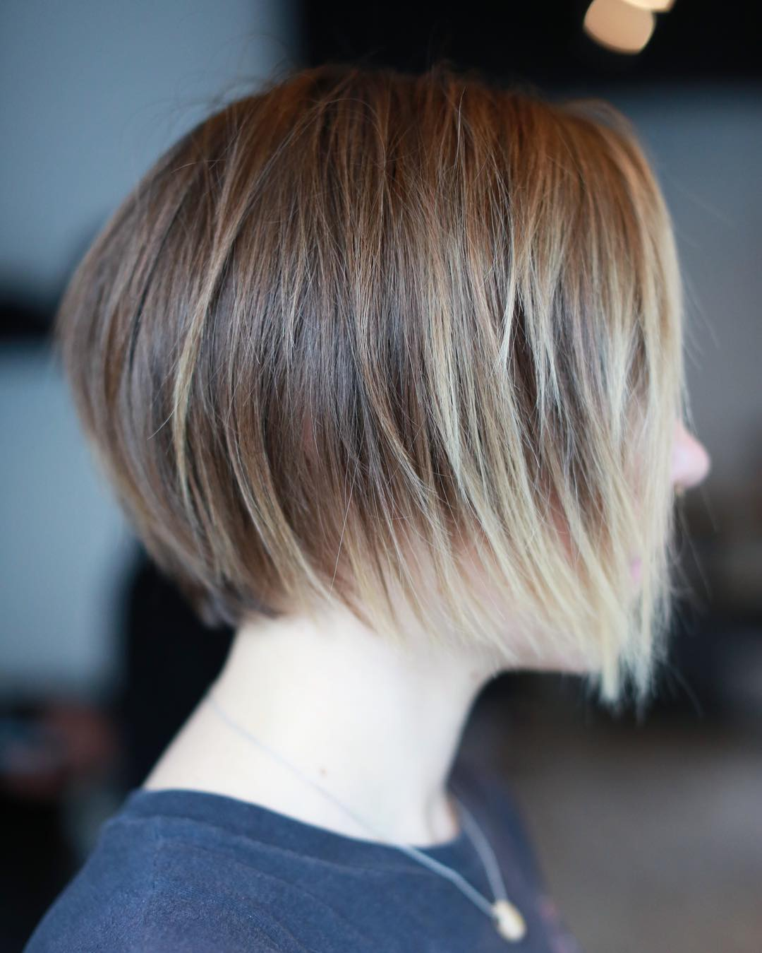 8-brown-bob-with-blonde-balayage-highlights 8-brown-bob-with-blonde-balayage-highlights
