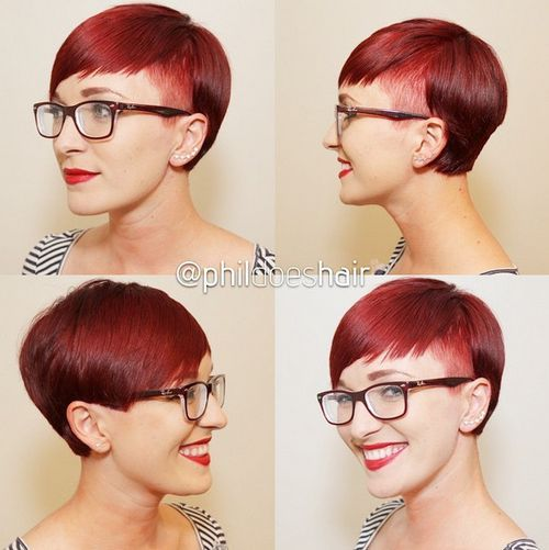9-short-red-asymmetrical-haircut-for-girls