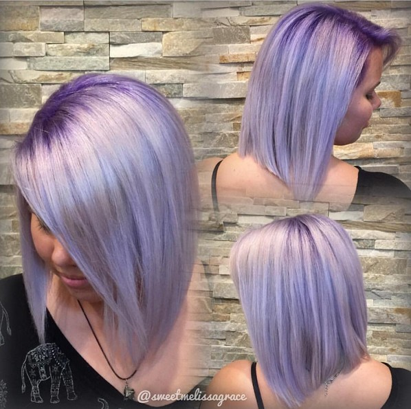 gorgeous-violet-metallic-with-purple-base-straight-lob-hair-styles