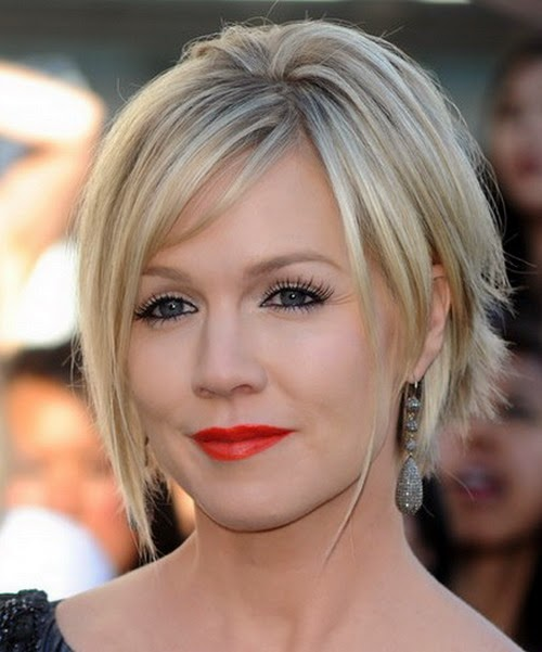 jenny-garth-messy-shaggy-hairstyles-with-bangs-2014